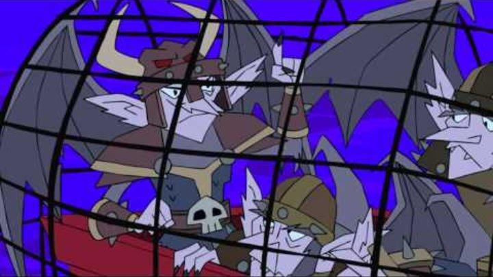 Мультфильм Американский дракон Джейк Лонг 2 сезон 30 серия HD