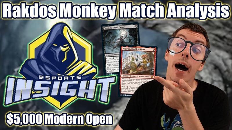 ( Modern) Rakdos Monkey Match Analysis From 5, 000 Insight Esports Modern Open