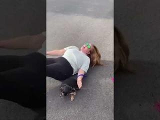 Угнетатель напал на беззащитную женщину