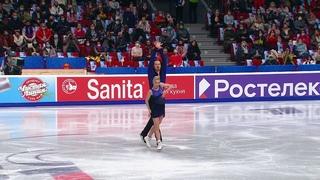 Короткая программа. Пары. Чемпионат России по фигурному катанию 2021