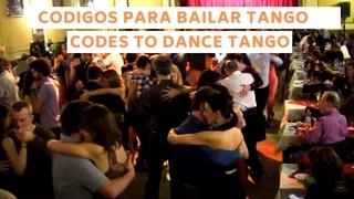Codigos de la milonga 2021 para baile de tango social, Buenos Aires, Tango Argentino