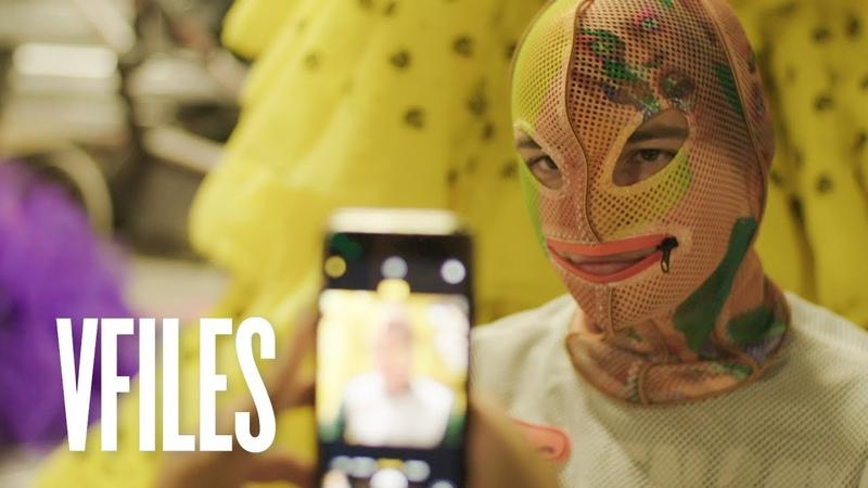 This Designer is Turning People into Aliens Meet Windowsen VFILES