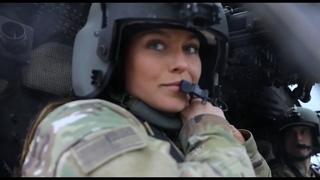 Meet Youngest Female UH-60 Black Hawk Pilot in 34th ECAB at Middle East: 1st Lt. Megan Skalla