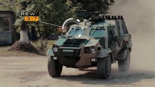 Презентация украинской бронемашины Дозор-Б