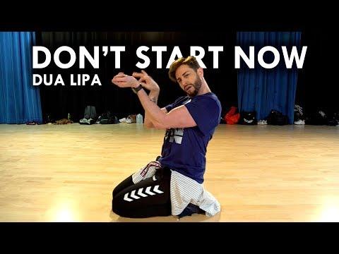 Don't Start Now Dua Lipa Brian Friedman Choreography Starwest Studios