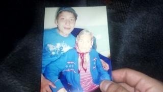 Я и баба Галя. Последнее фото с бабушкой