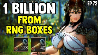 BDO - Nearly 1 Billion Silver From 160 RNG Boxes - Zero Pay To Win Ep 72 - Black Desert Online
