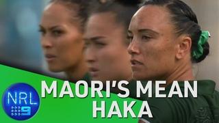 The Maoris mean haka | NRL on Nine