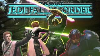 Гламурный парень против мужественной дамы. Star Wars Jedi: Fallen Orden