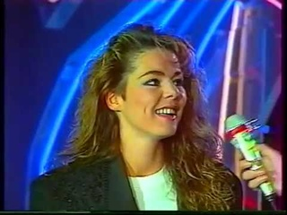 SANDRA - WE'LL BE TOGETHER (1989) - French TV - Variety Show in FRANCE