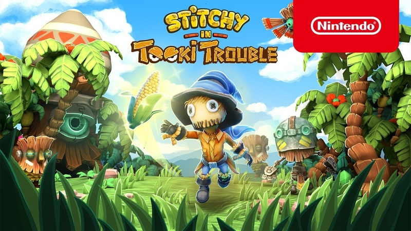 Stitchy in Tooki Trouble Launch Trailer Nintendo Switch