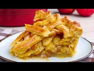 Яблочный пирог рецепт. Пирог который тает во рту. Как приготовить пирог с яблоками.