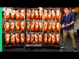 How THOUSANDS of Tasty Birds are Roasted Each Day!! (It's NOT Chicken!!)