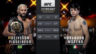 UFC 263 Free Fight: Deiveson Figueiredo vs Brandon Moreno 1