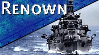 Только История: линейный крейсер HMS Renown