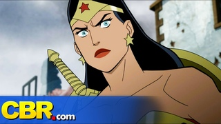EXCLUSIVE: Wonder Woman Crushes a Nazi Battalion in JUSTICE SOCIETY: WORLD WAR II Clip