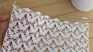 Цветочный УЗОР крючком ВЯЗАНИЕ блузки СХЕМА узора Easy to Crochet Tape Lace pattern