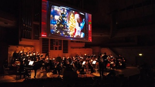 ⁴ᴷ⁶⁰ Walking Moscow: Christmas Concert - Symphony Orchestra 2020 🎄 Music from Movies - KINOZVUK