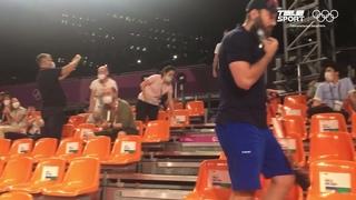 РЫВОК через всю арену! ДИКИЕ ЭМОЦИИ генерального менеджера сборной России по баскетболу 3х3