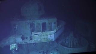First Footage of USS Johnston - Bridge