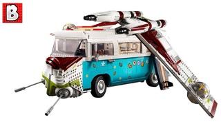 UCS Republic Gunship + T2 Camper Van Reveal!   LEGO News