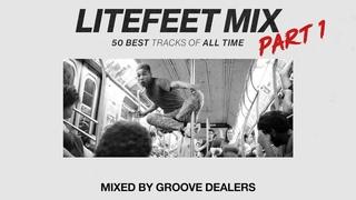 LITEFEET MIX Part 1: 50 best tracks of all time (Hip-Hop Battle / Cypher mixtape)