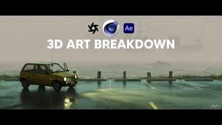 How I Create Cinematic CG Environments | FULL BREAKDOWN