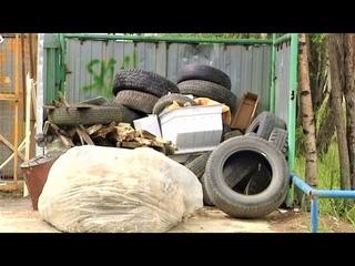 Право на чистоту - вартовчане не хотят делить мусорку с транзитным транспортом