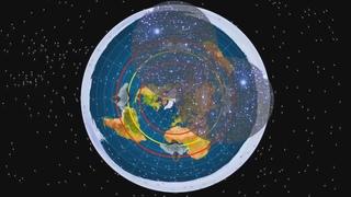 Как работают Южные Звезды на Плоской Земле  ~Эрик Дубей~