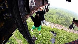 Dangerous Games 4 | AlexandeR Rusinov & Dexter | Best Extreme Parkour and Workout 2014