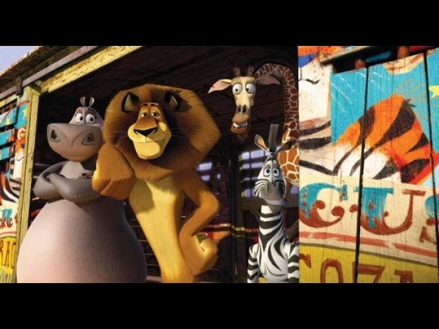 Видео к мультфильму Мадагаскар 3 2012 Трейлер дублированный