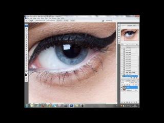 Ретушь портрета - Глаза (Чурсин Дмитрий - уроки ретуши)