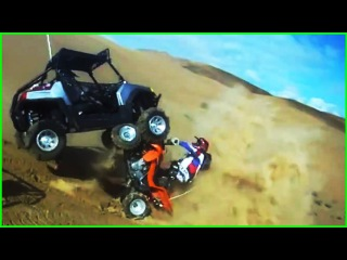 EPIC DIRT BIKE & ATV CRASHES & FAILS! []