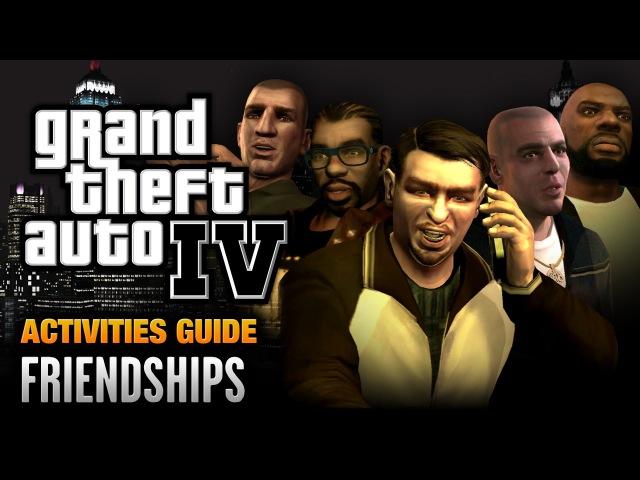 GTA 4 Friendships Guide Liberty City 5 Achievement Trophy 1080p