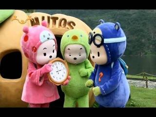 Обучающий и развивающий мультфильм  Малыши / Hutos - 01. Часы