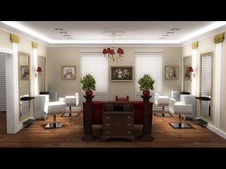Классический дизайн салона красоты