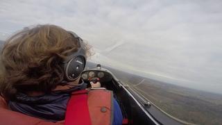 Пилотаж на сухопутном двухдвигательном реактивном Планере.