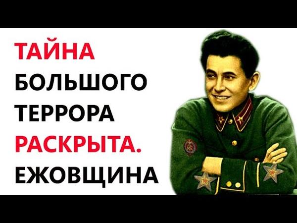 Тайна Большого Террора Раскрыта Ежовщина 1937 38