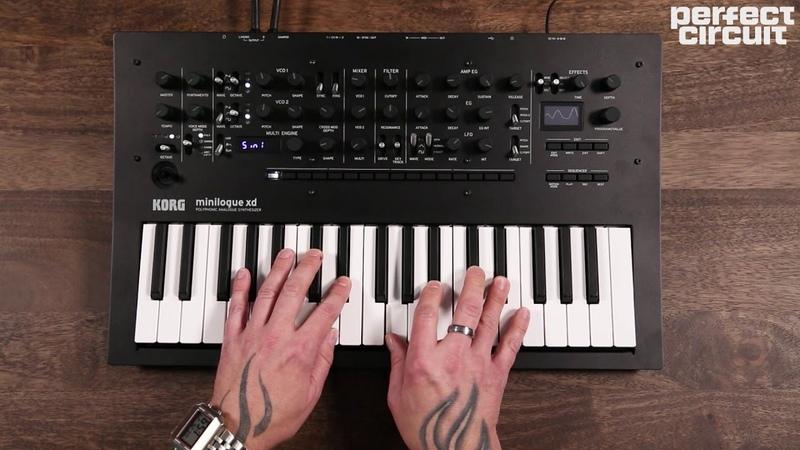 Korg Minilogue XD Polyphonic Analog Synthesizer With Digital Multi Engine Effects