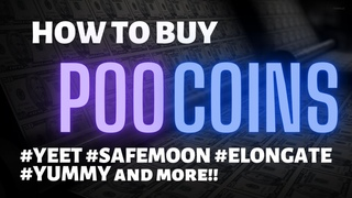 STEP by STEP - How to buy Tokens on Poocoin -  $YUMMY $SAFEMOON $ELONGATE $100x