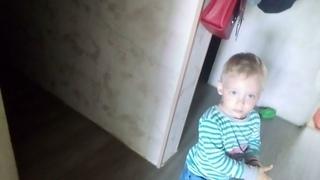 Реакция ребёнка: папа через 2 месяца вернулся из командировки