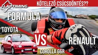 """Kötelező csúcsdöntés?? - Formula Renault """"Gender"""" vs. Toyota Corolla G6R (Laptiming )"""