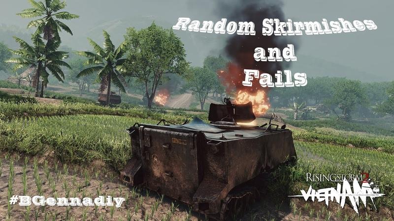 Rising Storm 2 Random Skirmishes and Fails