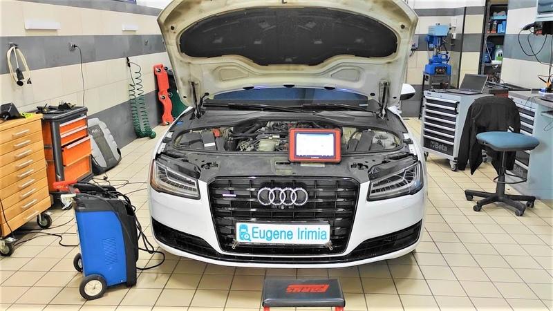 Audi A8 Long 4 2 TDI 2014 Ошибки по рециркуляции EGR