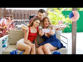 [FamilyStrokes] Lolly Dames, Selena Love - 4th of July Wiener NewPorn2021