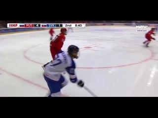 Россия - Словакия (ЧМ u18, Умео)
