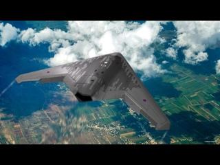 Тяжёлый дрон С-70 «Охотник» кладет 500кг бомбы с ювелирной точностью