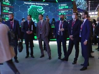 Делегация Нижегородской области принимает участие в экономическом форуме