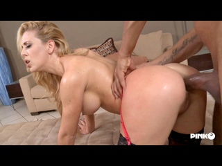 Cherie DeVille - Gets Her Ass Screwed By The Black Cock