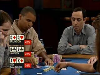 Poker Superstars Invitational Tournament. Season1. Episode 1